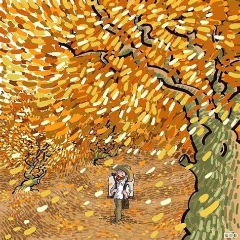 Cartunista ilustra a vida notável de Vincent van Gogh em ...