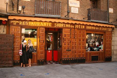 Casa Botín, the oldest restaurant in the world   ShMadrid