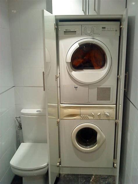 Casa de este alojamiento: Armario lavadora secadora