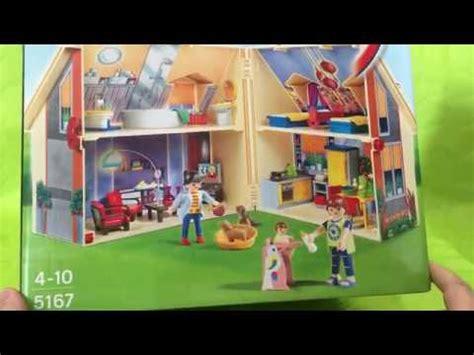 Casa de muñecas maletin Playmobil   YouTube