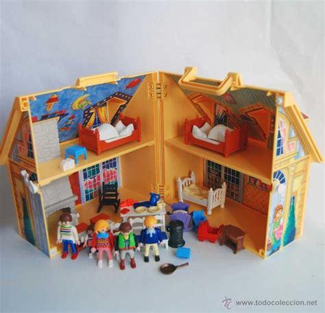 casa de muñecas portatil de playmobil geobra 41   Comprar ...