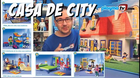 Casa de Playmobil y todas sus habitaciones   YouTube