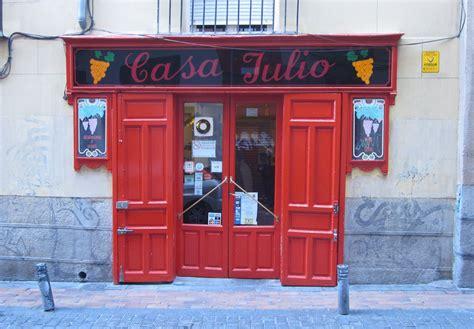 Casa Julio. Madrid   Tabernas. bares y restaurantes de ...