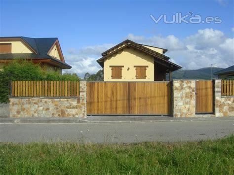 Casas prefabricadas, madera: Cierres de fincas asturias