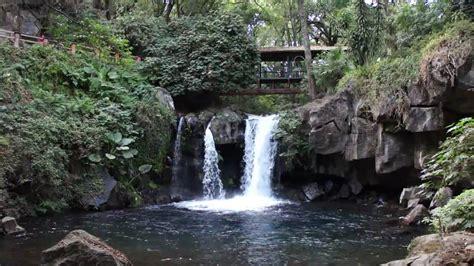 CASCADA  EL GÓLGOTA , en el Parque Nacional  Lic. Eduardo ...