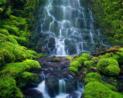 Cascade Waterfall Sensoria Rain Forest Costa Rica Mexico ...