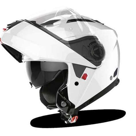 casco airoh modular phantom s color blanco brillo   Nilmoto