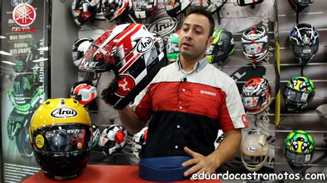 Casco Arai RXV7 en Eduardo Castro Motos en Sevilla   YouTube