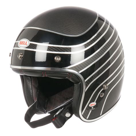 Casco Bell outlet CUSTOM 500   CARBON RDS   Cascos jet ...