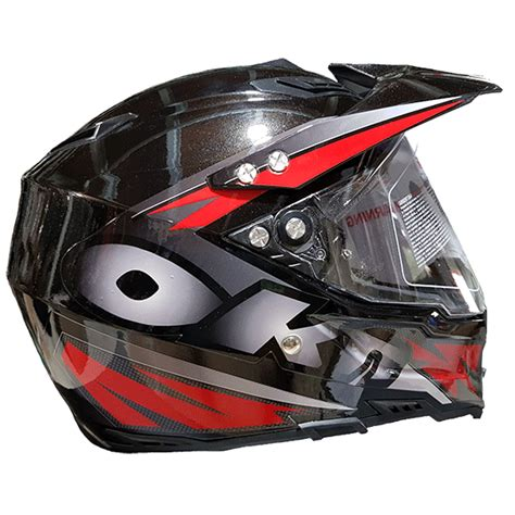 Casco Cross Trial   Repuestos y accesorios de motos