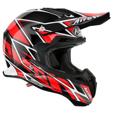 Casco de motocross Airoh outlet TERMINATOR 2.1 NET RED ...