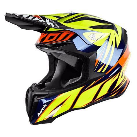 Casco de motocross Airoh outlet TWIST   EVIL   BLUE 2017 ...