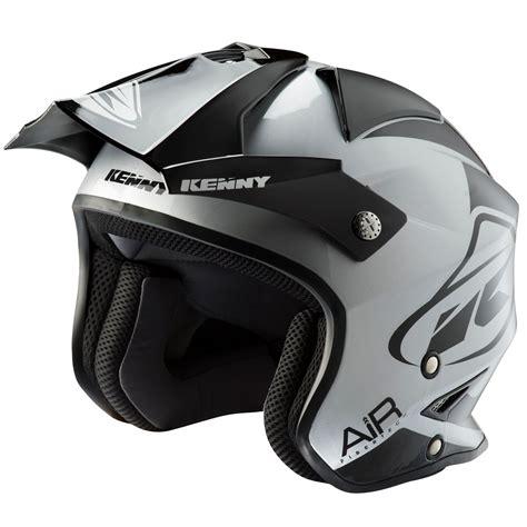 Casco de motocross Kenny TRIAL AIR BLACK SILVER 2020 ...