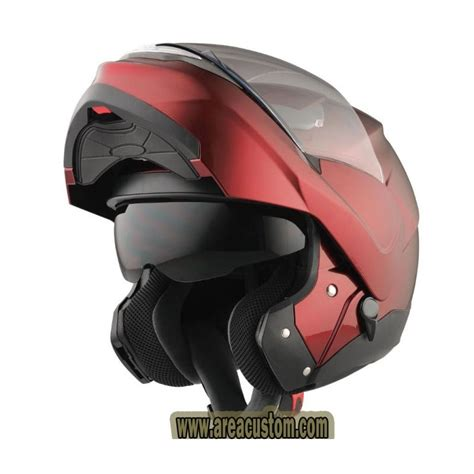casco modular kx5 probiker burdeos   AREA CUSTOM ...