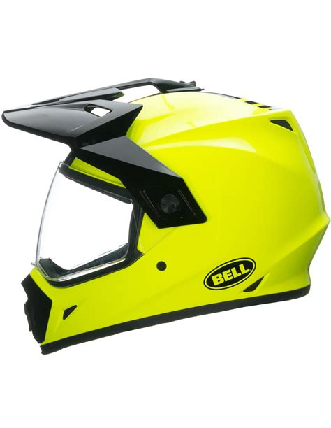 CASCO MOTO BELL MX 9 ADVENTURE AMARILLO FLUOR