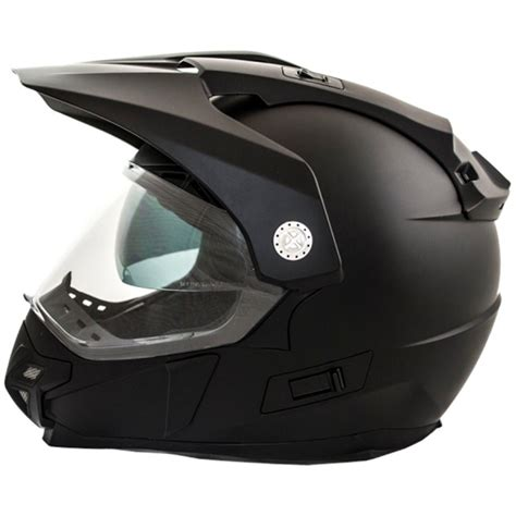 Casco Moto Cross LEM Trail negro mate M : Norauto.es