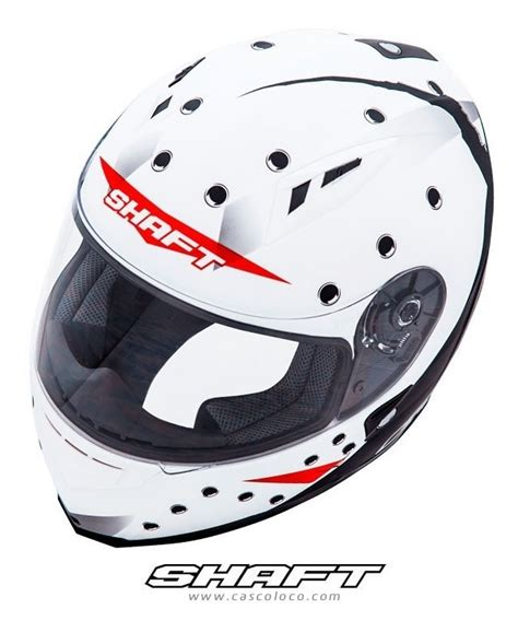 Casco Moto Proteccion Shaft 586 Jason Certificado Motero ...
