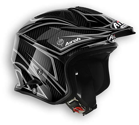 Casco moto Trial off road Airoh TRR Carbon abbigliamento ...