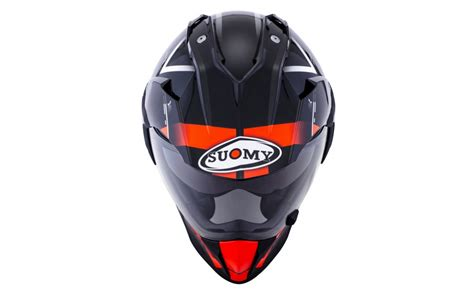 Casco Motocross Suomy Mx Tourer Road Naranja   Fabregues Motos