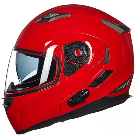 Casco Para Moto Ilm Bluetooth Mp3 Rojo Xl   $ 7,199.00 en ...