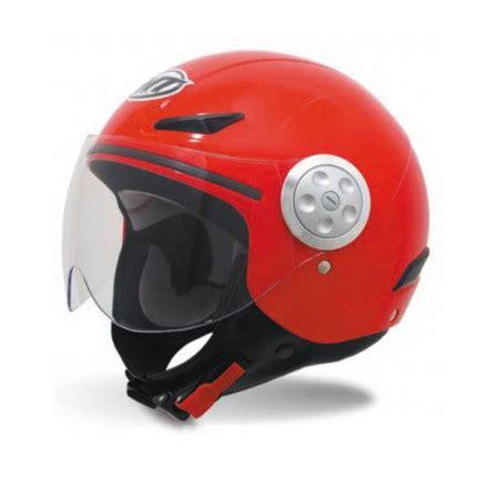 Casco para moto jet MT Urban Kids Solid Red en oferta