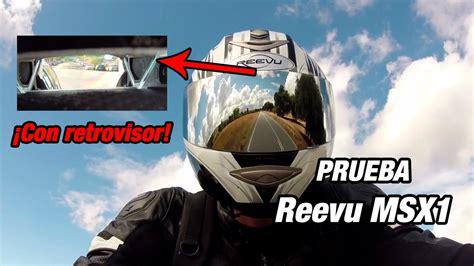 Casco Reevu MSX1 con retrovisor: Prueba a fondo [FullHD ...