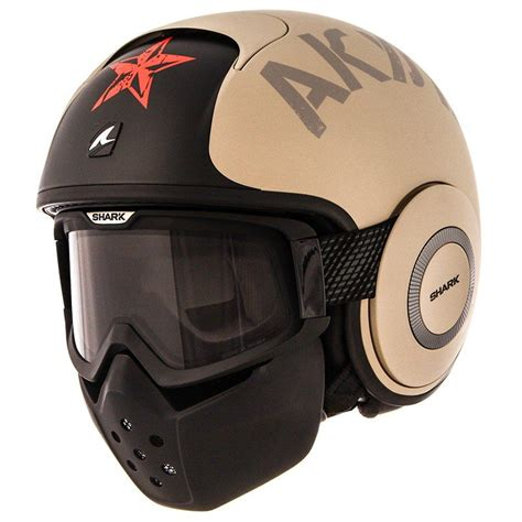 Casco Shark RAW SOYOUZ MAT | Motorcycle helmets, Cool ...