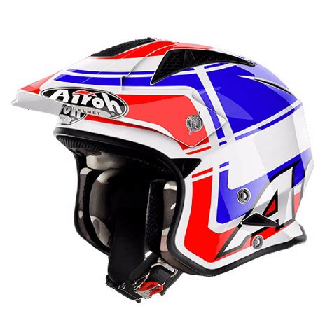 Casco Trial Airoh TRR S   WINTAGE 2018   Cascos off road ...