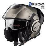 Cascos moto Bluetooth integrado   Motomania
