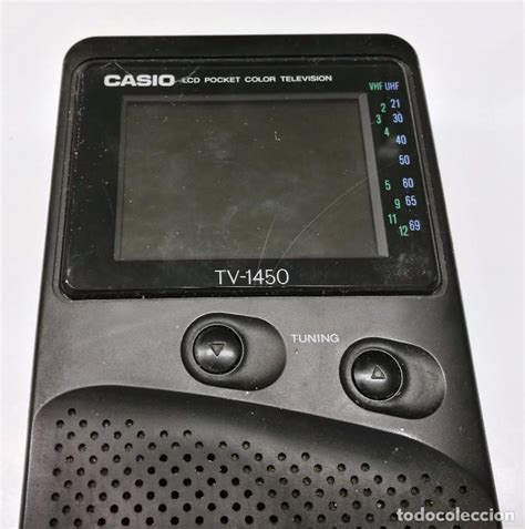 casio lcd pocket color television radio modelo   Comprar ...