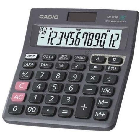 CASIO MJ 120D Basic  12 Digit  Calculator Original ...