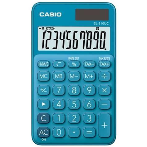 Casio SL310UCBU Handheld Calculator Blue | OfficeMax NZ