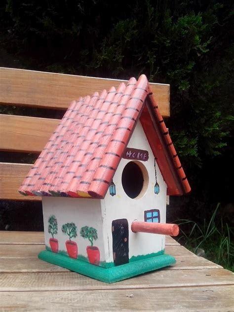 casitas para pajaros+madera
