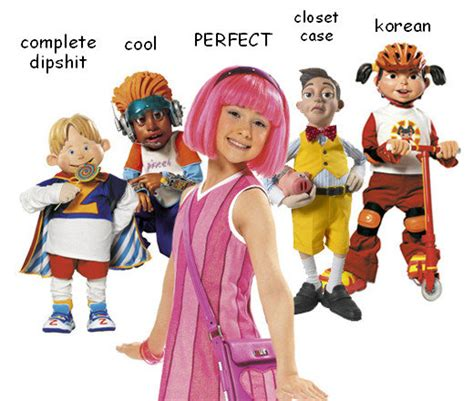 cast of lazy town