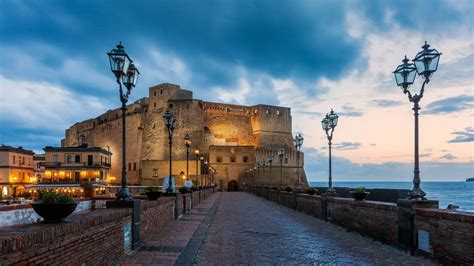 Castel Dell'Ovo, Naples, Italy   HD wallpaper download ...