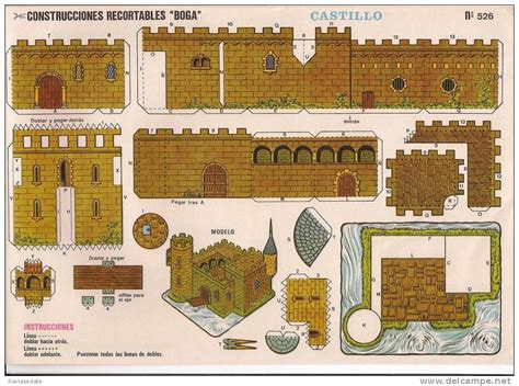 Castillos recortables Castillo recortable para descargar 2 ...