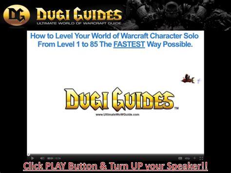 Cataclysm horde leveling guide
