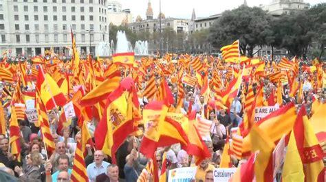 Catalanes que NO quieren la independencia, Plaza de ...
