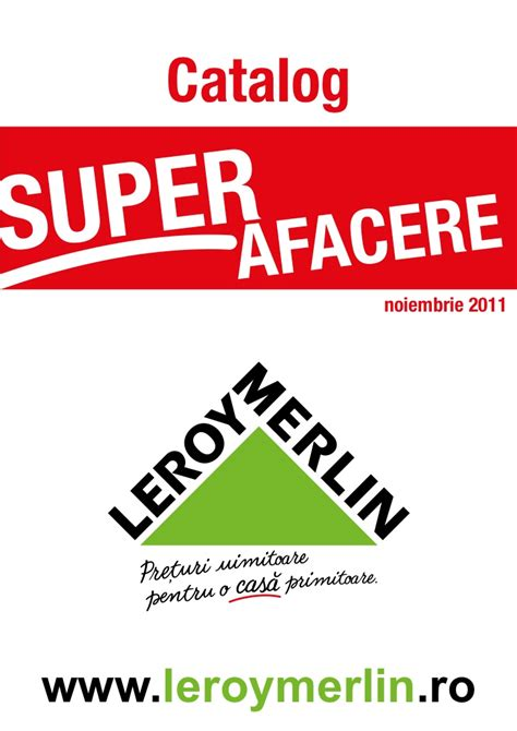 Catalog Leroy Merlin   Super Afacere Noiembrie