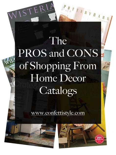 Catalog Shopping for Home Decor: The Pros and Cons ...