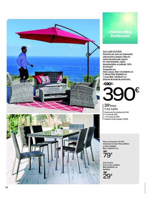 Catálogo Carrefour muebles de jardín 2020   EspacioHogar.com