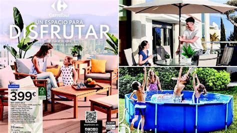 Catálogo Carrefour muebles de jardín 2021   EspacioHogar.com