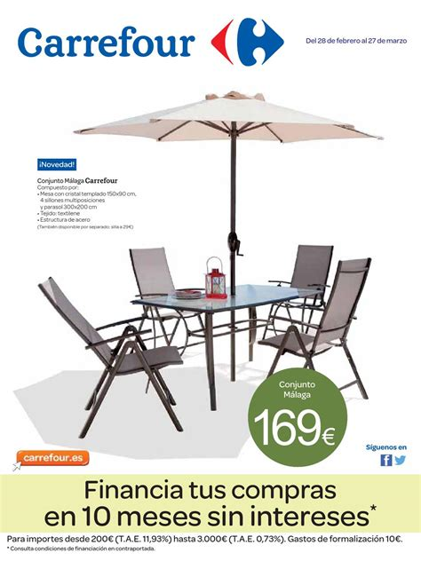 Catalogo carrefour muebles jardin by Carrefour Online   issuu