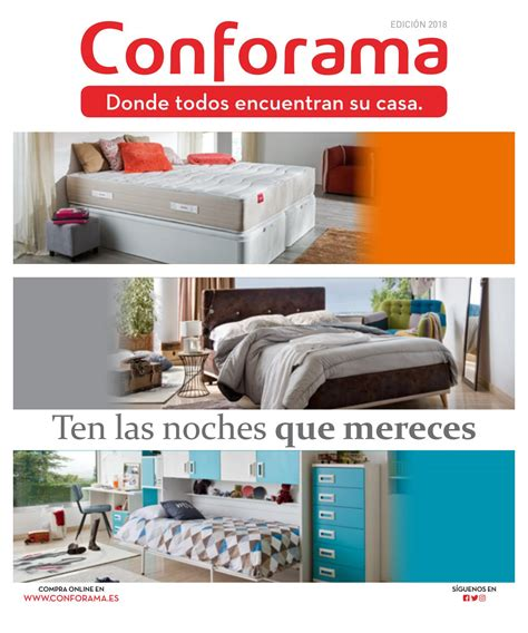 Catálogo conforama guía de dormitorios y armarios by ...