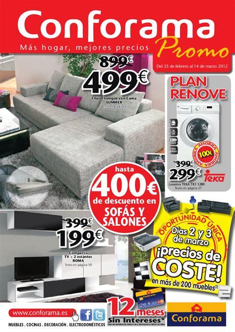 Catálogo Conforama sofás y salones by Milyuncatalogos.com ...