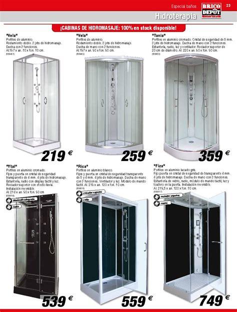 Catálogo de baños de Brico Depot