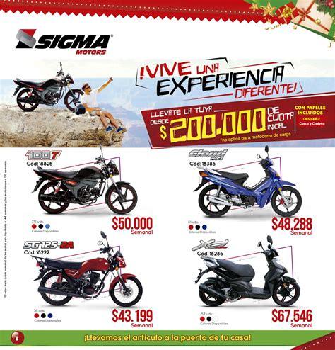 Catálogo de Motos   Diciembre 2018 by CrediAS & Sigma ...