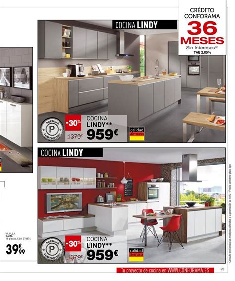 Catálogo de ofertas de Conforama. Pág. 25, cocina Lindy ...