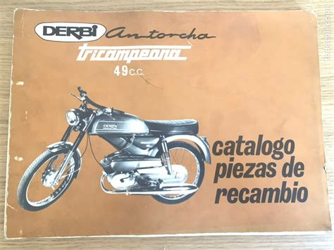 catálogo de piezas de recambio derbi antorcha t   Comprar ...