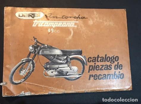 catalogo de piezas de recambio derbi antorcha t   Comprar ...